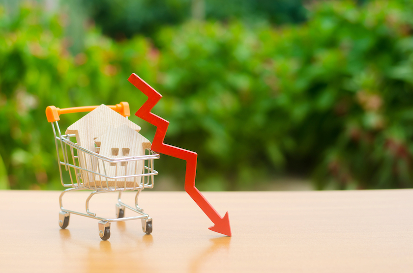 不動産価値の下落